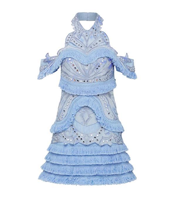 thurley blue dress
