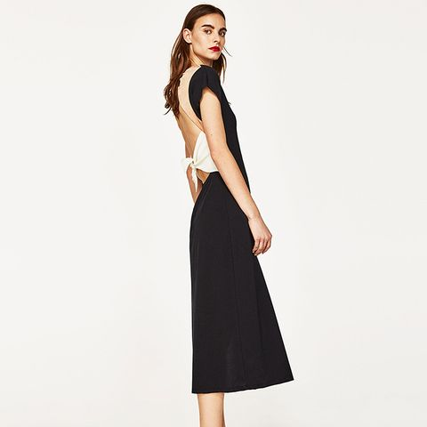 Long Dress With Knotted Back