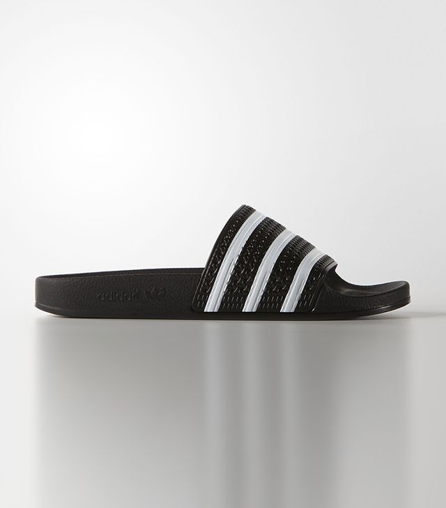 celebrity sandals - Adidas Adilette Slides
