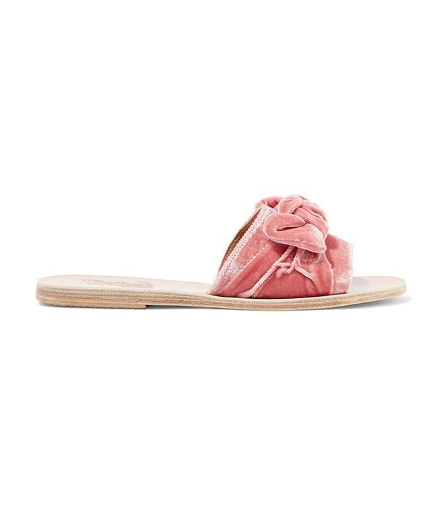 celebrity sandals -  Ancient Greek Sandals Taygete Velvet Sandals