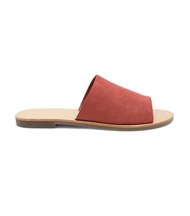 celebrity sandals - Forever 21 Faux Suede Slides