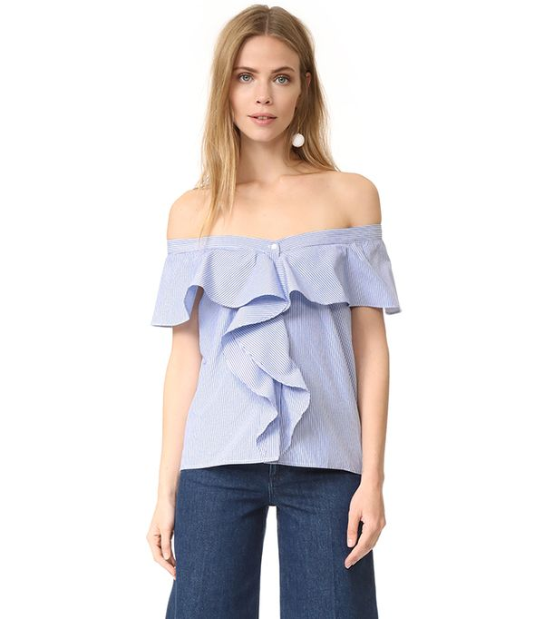 spring tops - After Market Ruffle Blouse