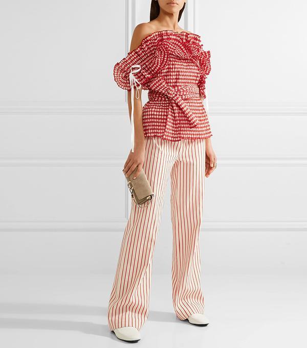 top styles - Rosie Assoulin Iris Top