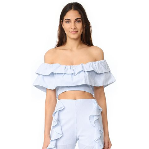 Bluebell Ruffle Top