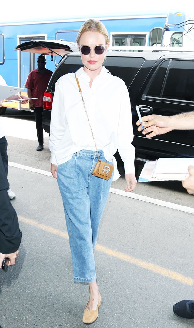 Kate Bosworth airport style