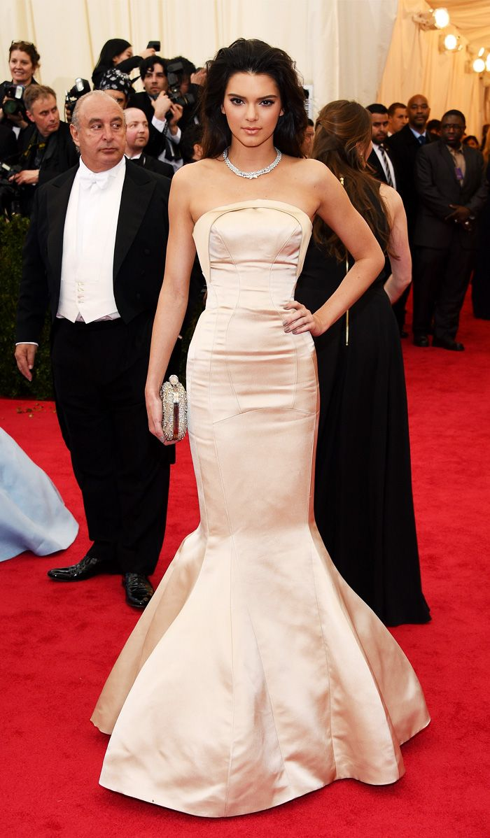 Met Gala high street dresses: Kendall Jenner in Topshop