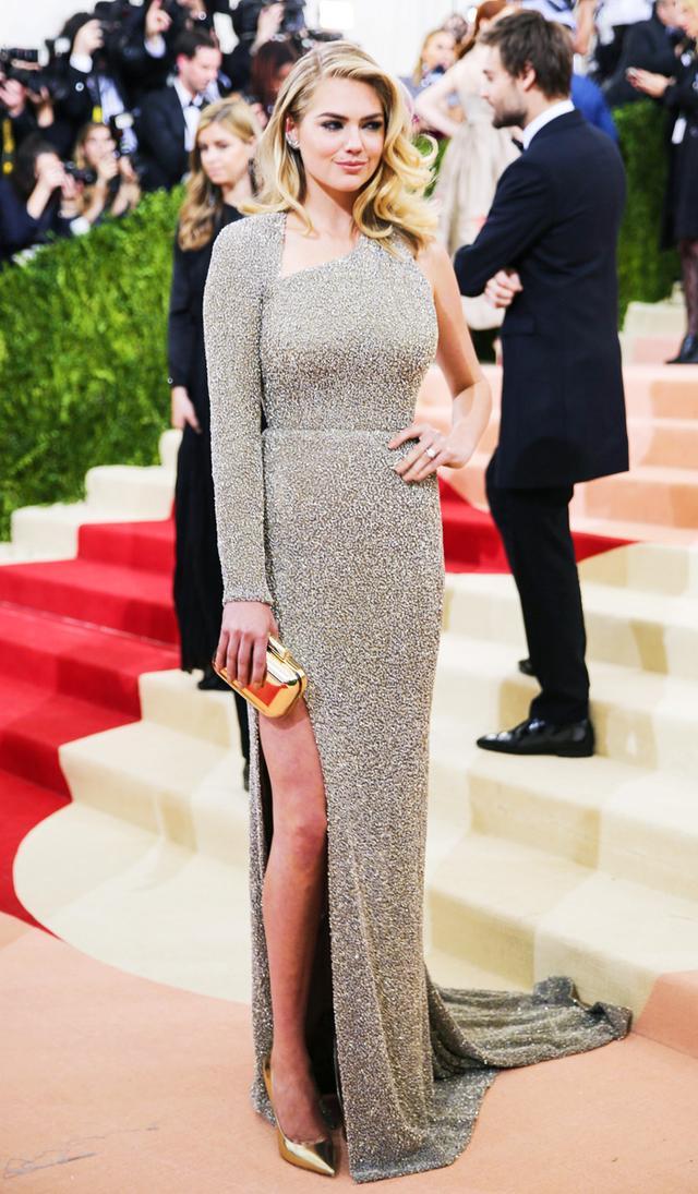 Met Gala high street dresses: Kate Upton in Topshop