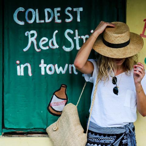 Best beachwear brands: Lucy Williams in Dodo Bar Or
