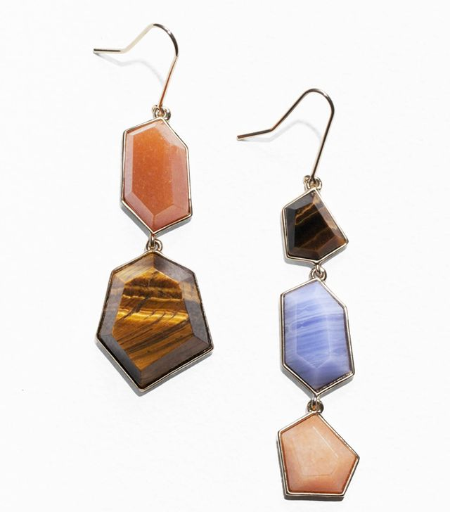 How to dress like a Scandinavian: & Other Stories gem earrings