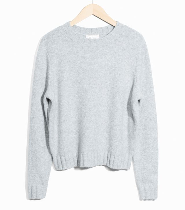 How to dress like a Scandinavian: & Other Stories grey jumper