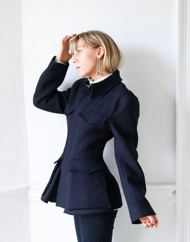 How to dress like a Scandinavian: Sandra Haggelstam jacket H&M