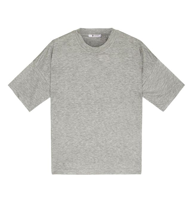 How to dress like a Scandinavian: Alexander Wang grey t shirt