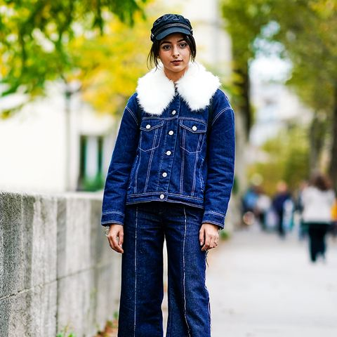 double denim: a ladylike approach to doing this look