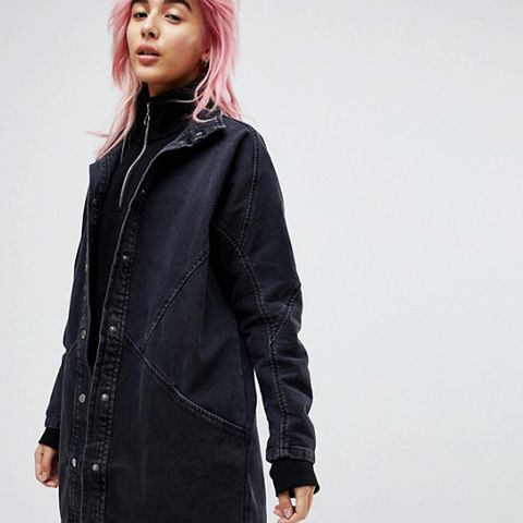 Denim Batwing Jacket