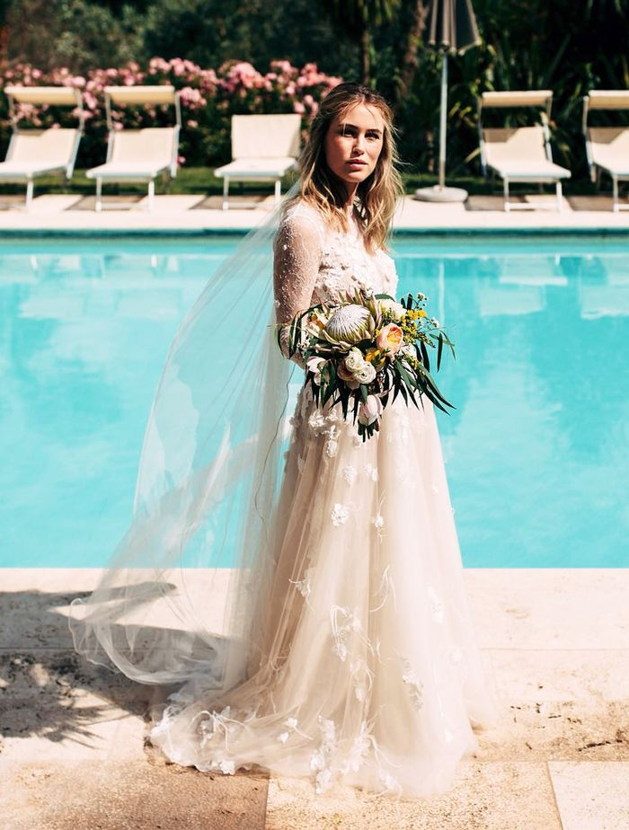 The Best Boho Wedding Dresses For Bohemian Brides Who What Wear