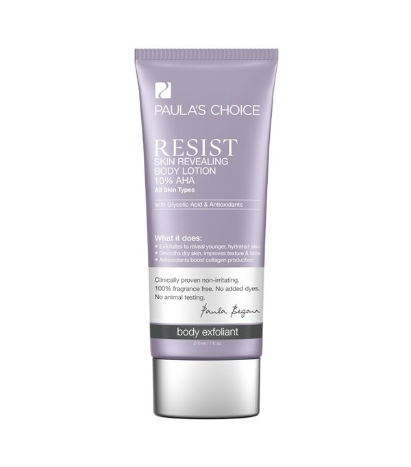 Best Body Peels: Paula's Choice Resist Skin Revealing Body Lotion 10% AHA