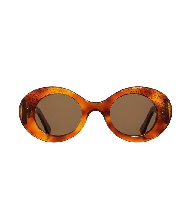 tortoise oval sunglasses