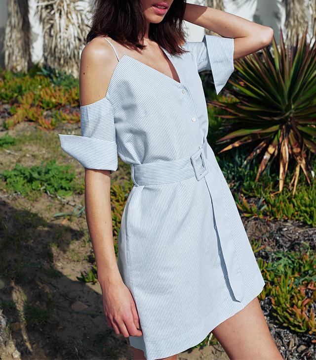 Isa Arfen off the shoulder dress