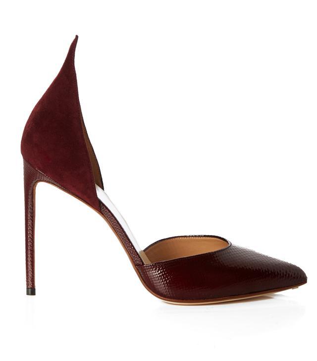 Francesco Russo suede heels