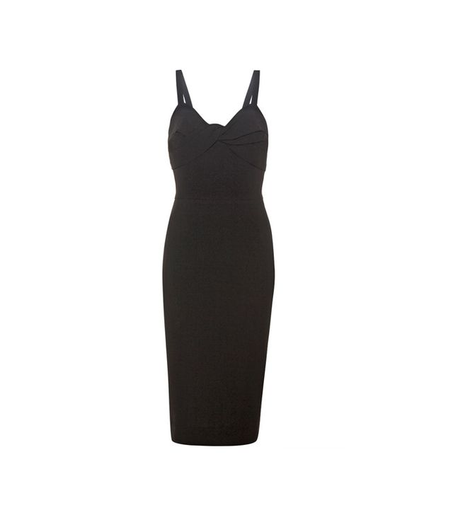 Victoria Beckham Silk and Wool-Crepe Dress