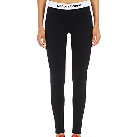Logo-Waistband Leggings