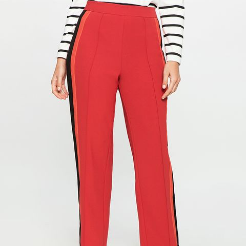 Striped Satin Pant