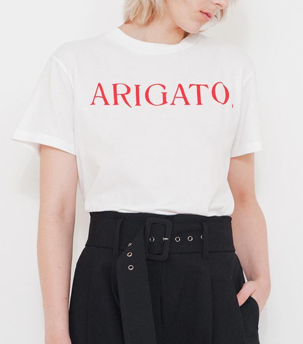 Rarely Arigato Tee