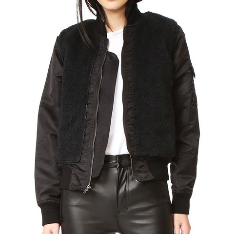 Aviator Sherpa Jacket