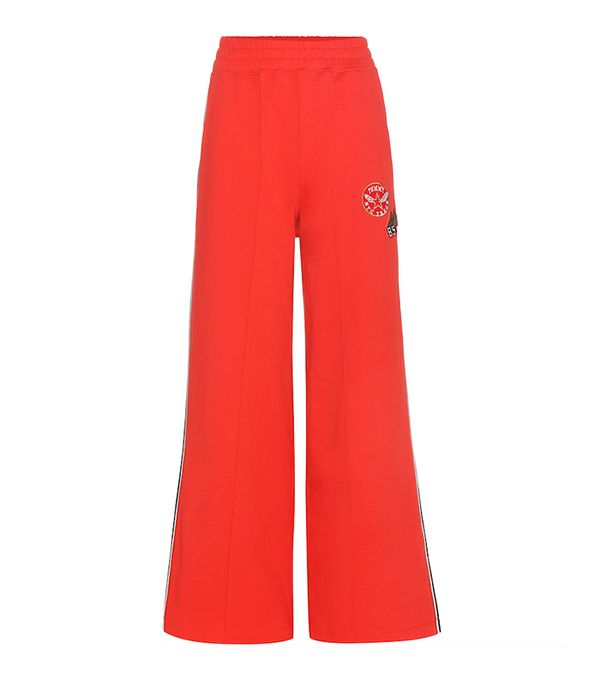 Tommy Hilfiger Cotton Track Pants with Appliqué