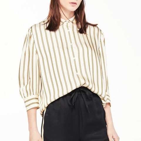 Shirt With Thick Stripes