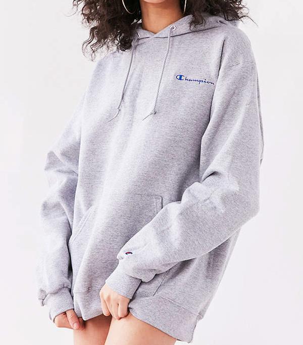 Champion + UO Powerblend Mini Logo Hoodie Sweatshirt