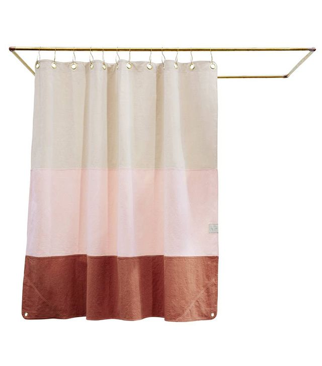 Apartment decorating ideas — Quiet Town shower curtain
