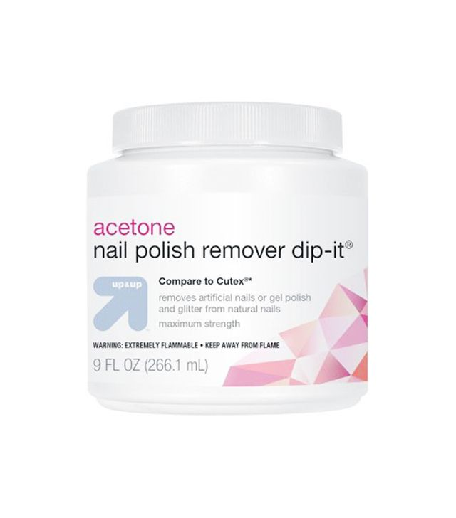 acetone - how to remove fake nails