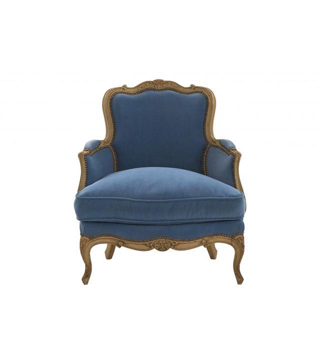 Jayson Home Vintage Louis XV Bergere Chair