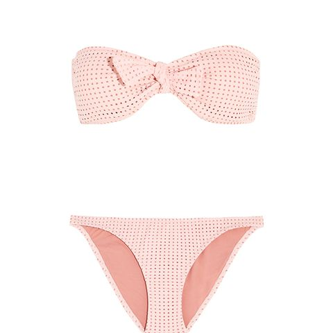 Aruba Perforated Bandeau Bikini Top