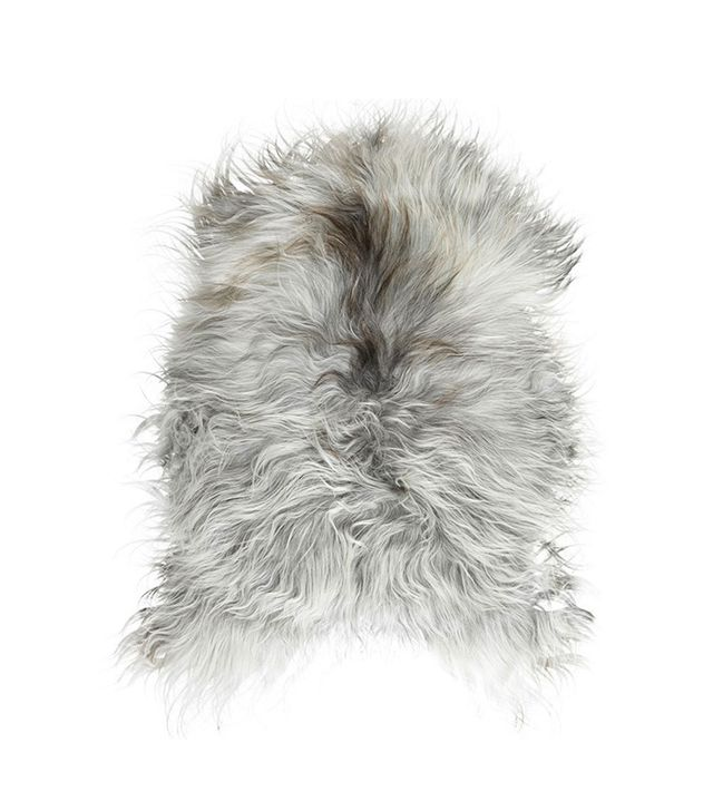 TRNK Grey Long-Haired Icelandic Sheepskin