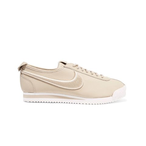 Cortez 72 Sl Embroidered Leather Sneakers