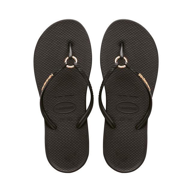Havaianas Black Ring Flip Flop