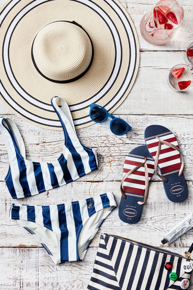 Nothing says summer more than nautical touches like red-and-white or blue-and-white stripes. And armed with the right pieces, you can achieve an effortlessly chic nautical look that's subtle...