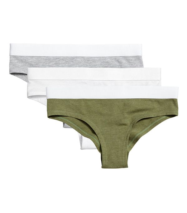 H&M 3-pack Cotton-blend Briefs