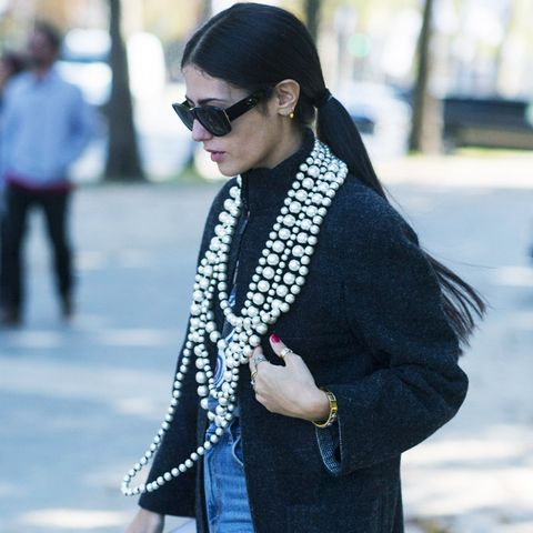 Pearl Jewellery Trend: string necklaces