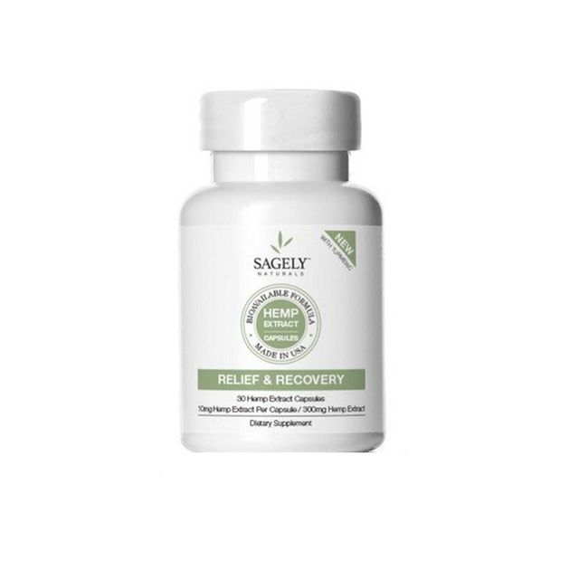 Sagely Relief & Recovery Capsules