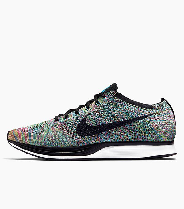 best running shoes- nike flyknit racer sneakers
