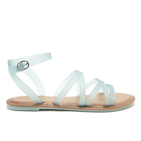 Jelly Ankle-Strap Sandals