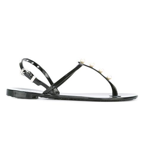K/Pearl Jelly Sandal