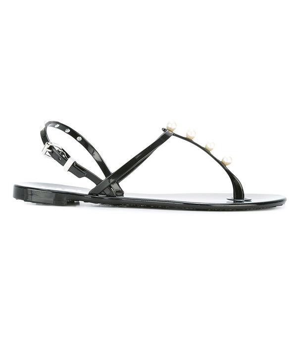 Karl Lagerfeld K/Pearl Jelly Sandal