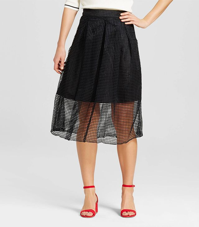 who what wear birdcage skirt