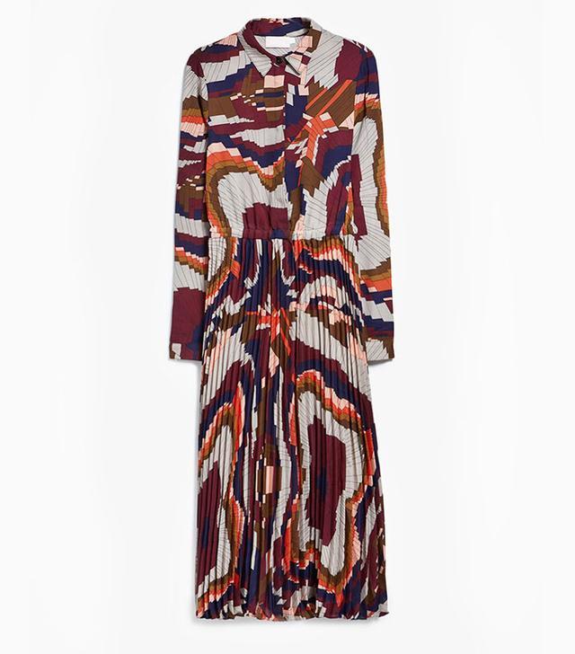 Farrow Bea Pleated Dress