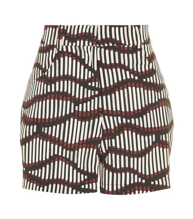 Topshop Matchstick Print Shorts