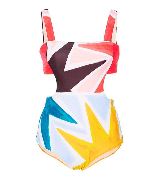 Mara Hoffman Superstar Printed Swimsuit